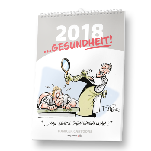 Themen-Cartoon Kalender 2018