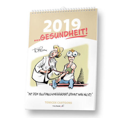 Themen-Cartoon Kalender 2019